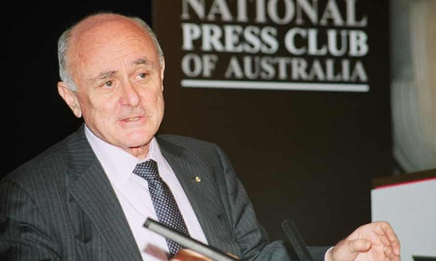 Prof Allan Fels AO, economist and chair of the National Mental Health Commission