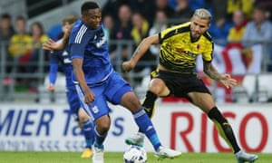 Valon Behrami, right, is among the many players signed by Watford this summer.