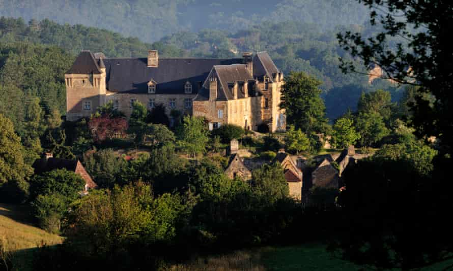 Jonathan Sumption's chateau in the village of  Berbiguières, in south-west France.
