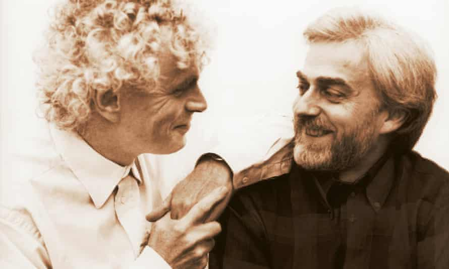 Simon Rattle and Krystian Zimerman
