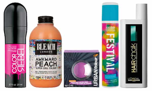 The Best New Temporary Hair Colours Beauty The Guardian