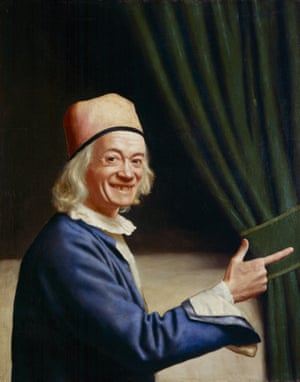 Liotard Laughing (Self-portrait) c.1770.