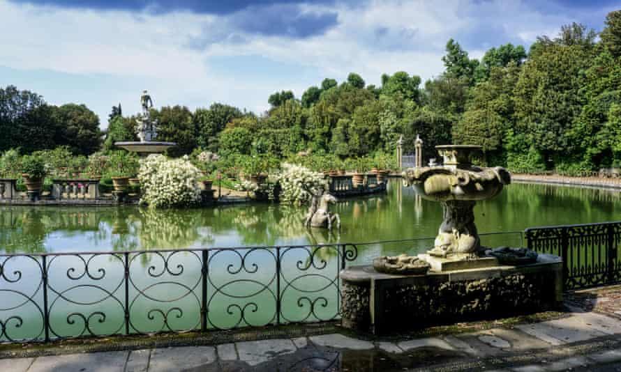The Boboli Gardens, Florence.