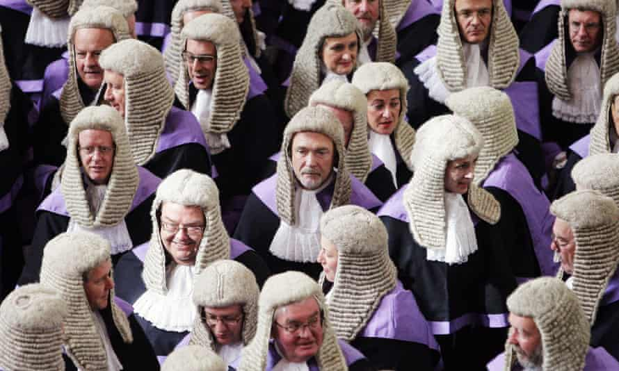 Is this pale, stale, male-dominated legal system fully able to serve justice to a far more diverse community than that represented within its own ranks?