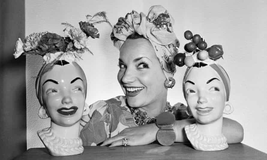 Carmen Miranda's turbans.