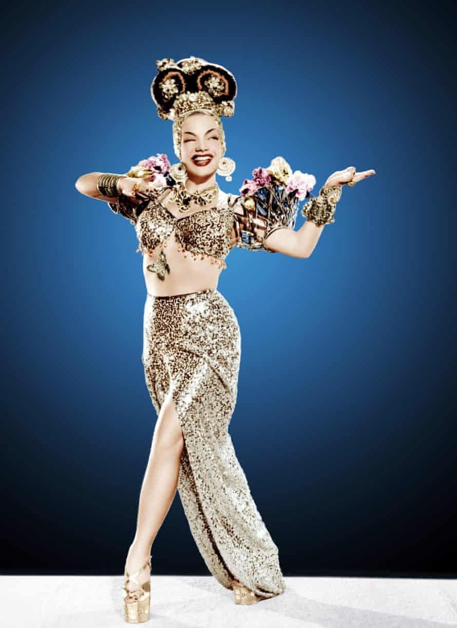 Carmen Miranda, 1947.