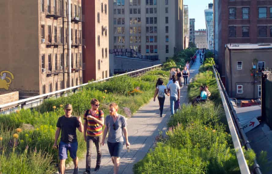 The High Line Park in Manhattan: 'unrepeatable'.