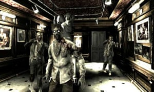 Horror games such as Resident Evil maintain high levels of tension for the unfortunate gamer.