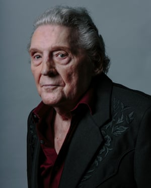 Jerry Lee Lewis photographed at home in Memphis, Tennessee 2015