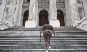 'Over My Dead Body' ... New York City Hall.