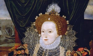 Portrait of Queen Elizabeth I of England (the Armada Portrait) by an unknown artist, c. 1588.