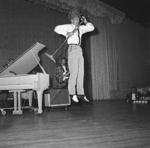 Jerry Lee Lewis at the Cafe de Paris on 10 June  1958