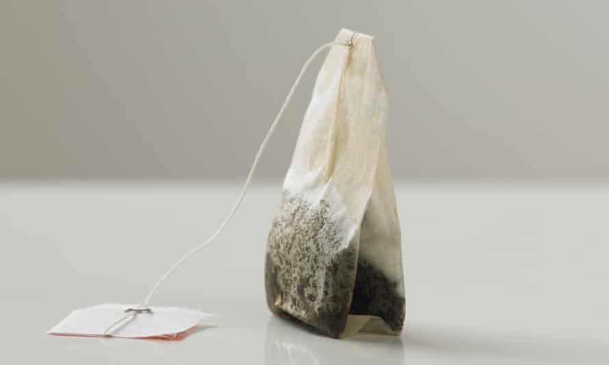 Stirring up debate: a tea bag, yesterday.