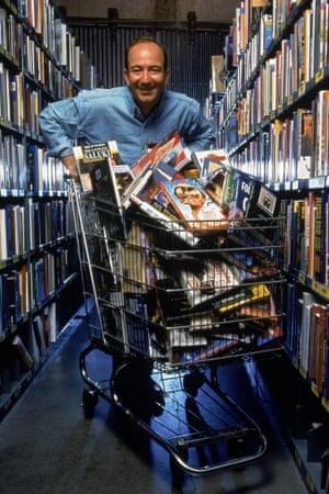 Supermarket sweep … Amazon CEO Jeff Bezos has overseen Kindle's success.