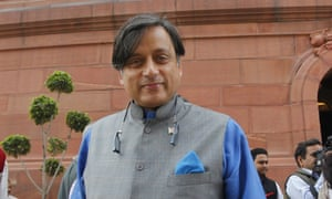 Shashi Tharoor, whose appearance at the Oxford Union has reopened the subject of reparations.