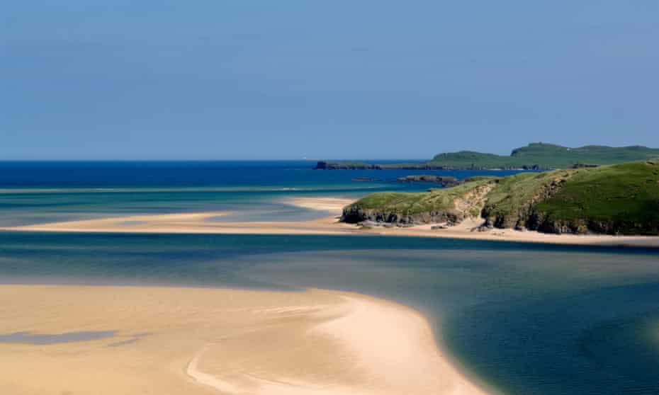 Beaches on the Kyle of Durness, part of Scotland's North Coast 500 route