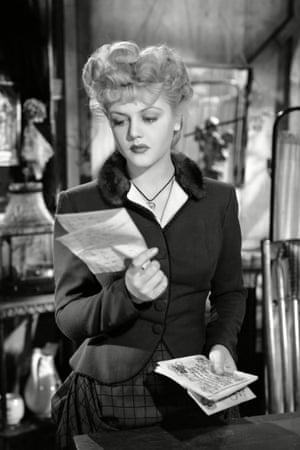 Angela Lansbury in the 1945 film version of The Picture of Dorian Gray