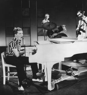 Jerry Lee Lewis on the Steve Allen show, 1957