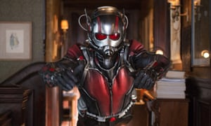 Child support worries … Paul Rudd as Ant-Man.