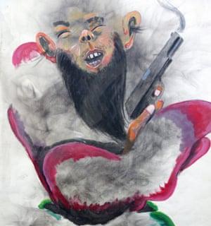 Aden Affei's paintings hold testimony to Somalia's history