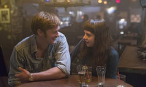 … Alexander Skarsgard, left, and Bel Powley in The Diary of a Teenage Girl.