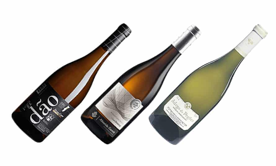 Three white wines from Portugal