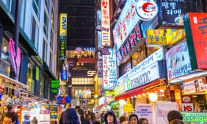 One of Seoul's prime shopping districts. With its sharing economy innovations and high population density, Korea's capital is positioned to become a sustainability leader.