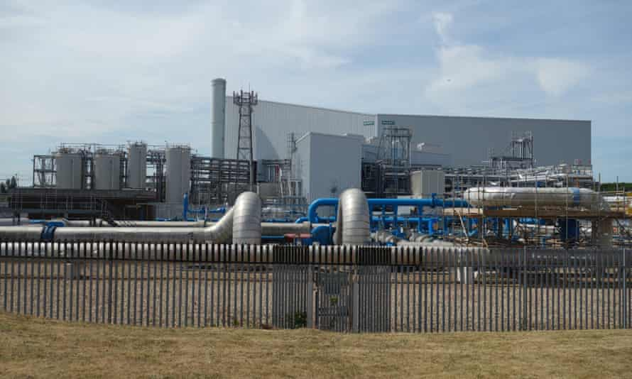 Beckton sewage works is powered by the world's first industrial-scale plant run on FOGs.