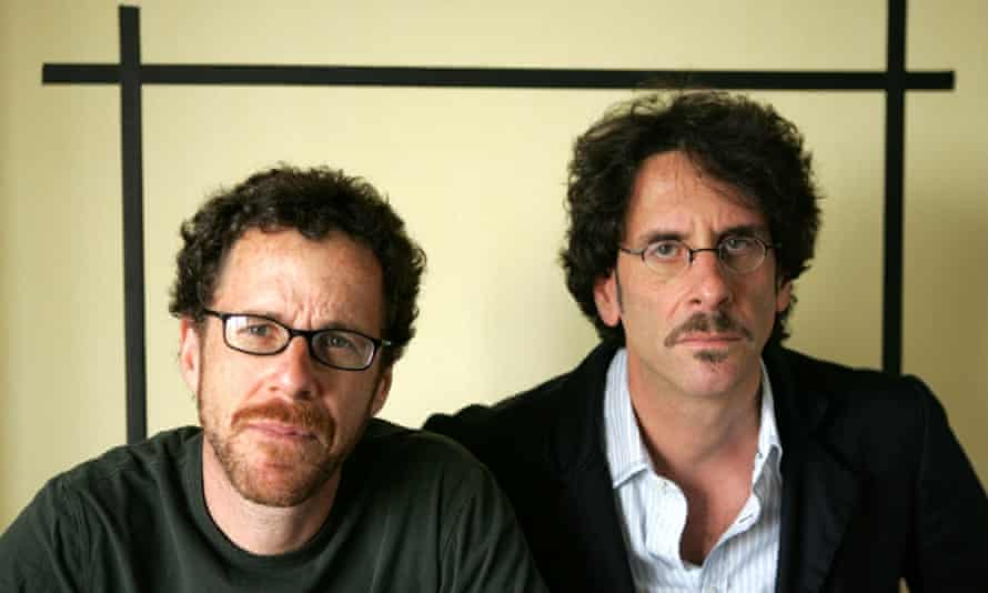 """Filmakers Ethan Coen, left and Joel Coen, pose for a portrait while promoting their new movie """"No Country For Old Men,"""" at the Four Seasons Hotel in Los Angeles, in this Nov. 4, 2007,"""