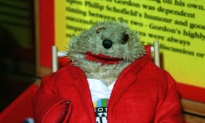 "Gordon the Gopher: ""No comment! You'll have to speak to my agent""."