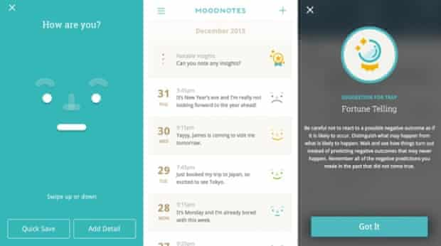 Moodnotes is a joint venture between Ustwo and Thriveport.