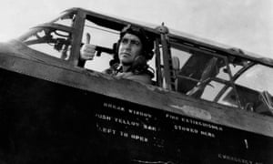 Richard Todd in the Dam Busters.