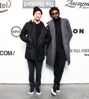 Dao Yi Chow Left And Maxwell Osborne Right Of Public School