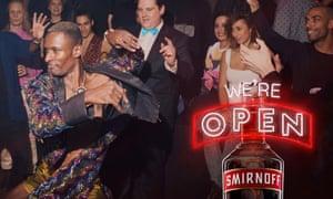 Smirnoff Voguing ad campaign