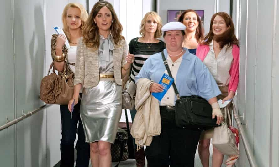 Bridesmaids, which features Apatow's most believable female characters.
