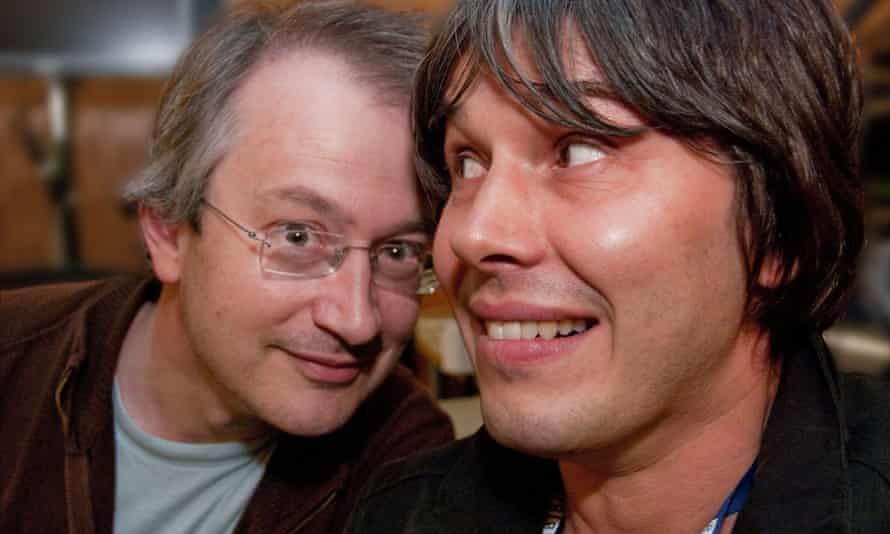 Robin Ince and Professor Brian Cox.