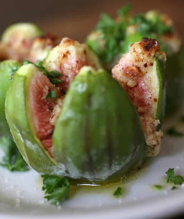 Roasted fig