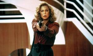 Kathleen Turner in the 1991 film VI Warshawski.