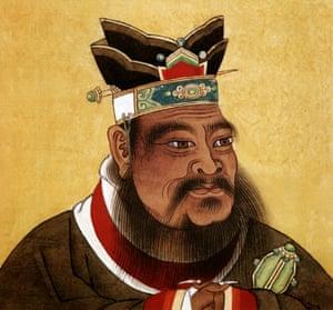 Confucius (551-479 BC). Photograph: Apic/Getty
