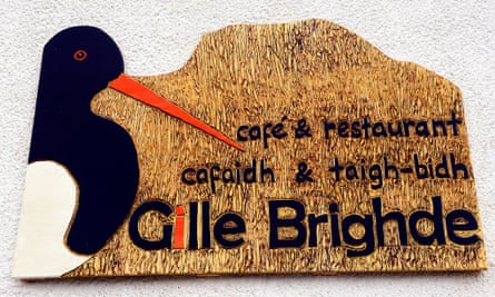 Gille Brighde cafe and restaurant