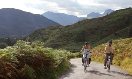 Electric bikes in the Lakes