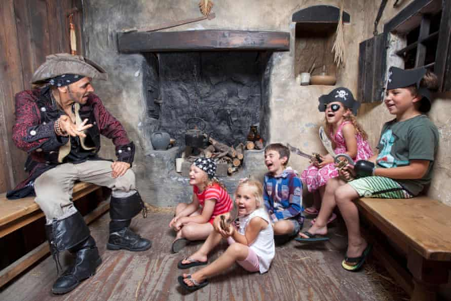 Tall tales at Pirate's Quest, Newquay