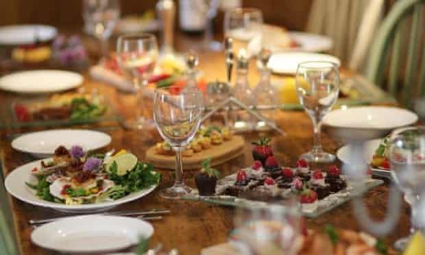 A summer supper at Hidden Kitchen