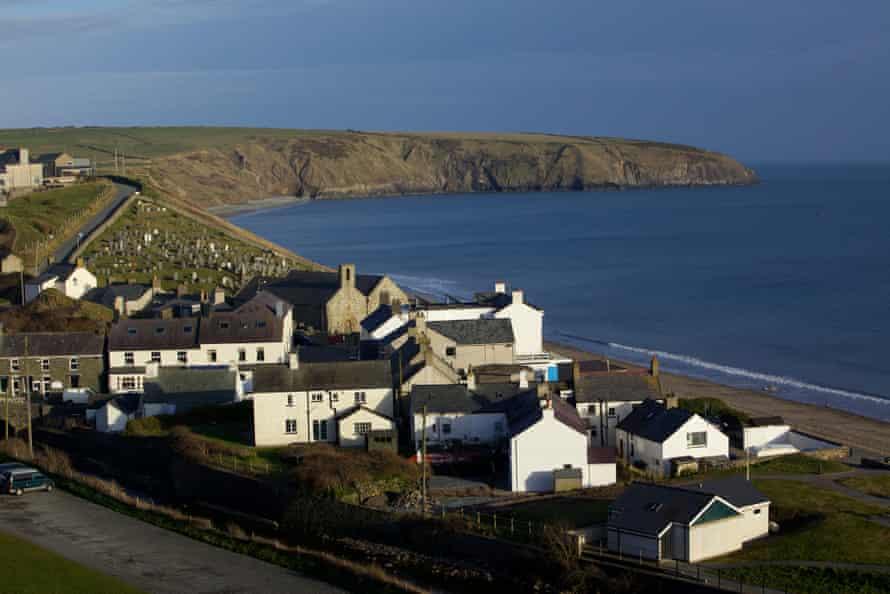 Aberdaron village, on the Llyn peninsula