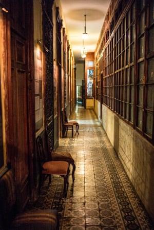 The interior of La Guarida restaurant,  a Havana fixture for over 75 years