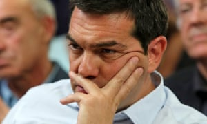 Greek prime minister Alexis Tsipras in Athens on 5 August.