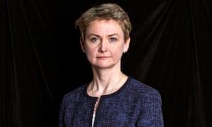 Labour leadership contender Yvette Cooper.