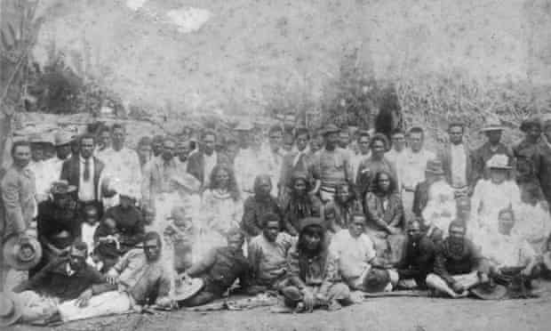 Australian South Sea Islanders at Farnborough, Queensland, ca. 1895