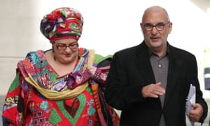 The chief executive of Kids Company, Camila Batmanghelidjh, with its chair, the BBC's Alan Yentob, in January