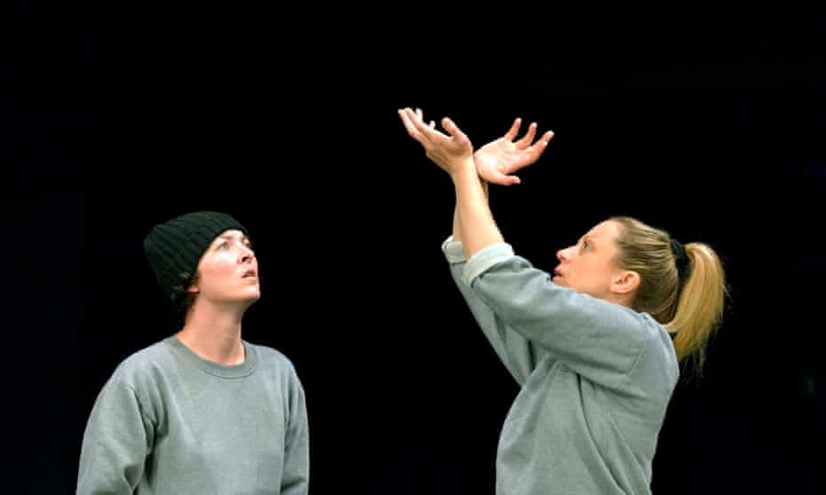 Jessica Johnson as Angie and Christina Berriman-Dawson as Kelly in Key Change by Open Clasp.